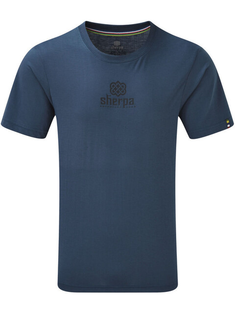 Sherpa Hero - T-shirt manches courtes Homme - bleu